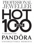 Hot 100 2014, professional jewellery hot 100, award