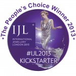 People's choice 2013, IJL2013, Kickstart, winner, jenny llewellyn jewellery, silicone