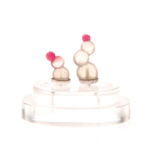 squirts, ear squirts, silicone jewellery, jenny llewellyn, silicon, studs, earrings