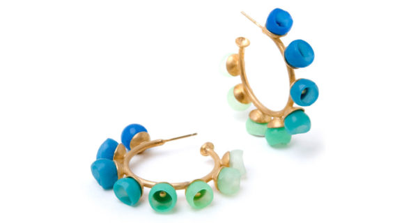 plume collection, jenny llewellyn, luminescent silicone and precious metal jewellery
