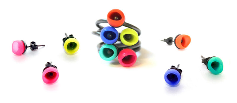Stockists mix up rings studs jenny llewellyn