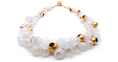 who needs pearls, plume collection, jenny llewellyn, luminescent silicone and precious metal jewellery
