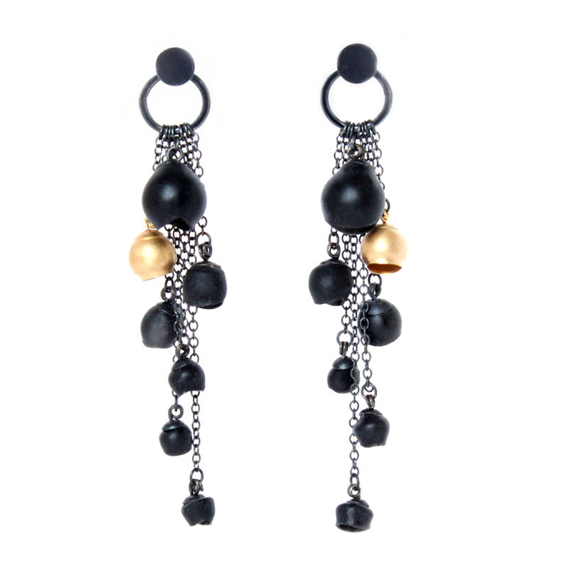 geoffrey products oxidized sol grande scott earrings niyama circle silver dangle cascade
