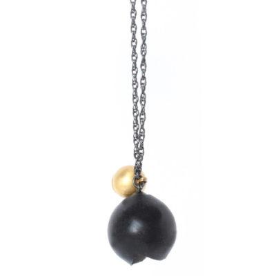 chromophobia black pendant