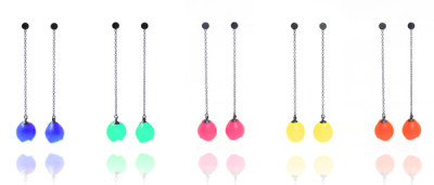 Jenny Llewellyn, mix up look sharp, luminescent silicone and precious metal jewellery
