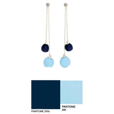 Pantone colour match earrings
