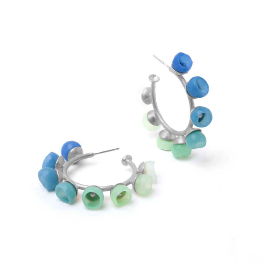 colour fade hoops blue